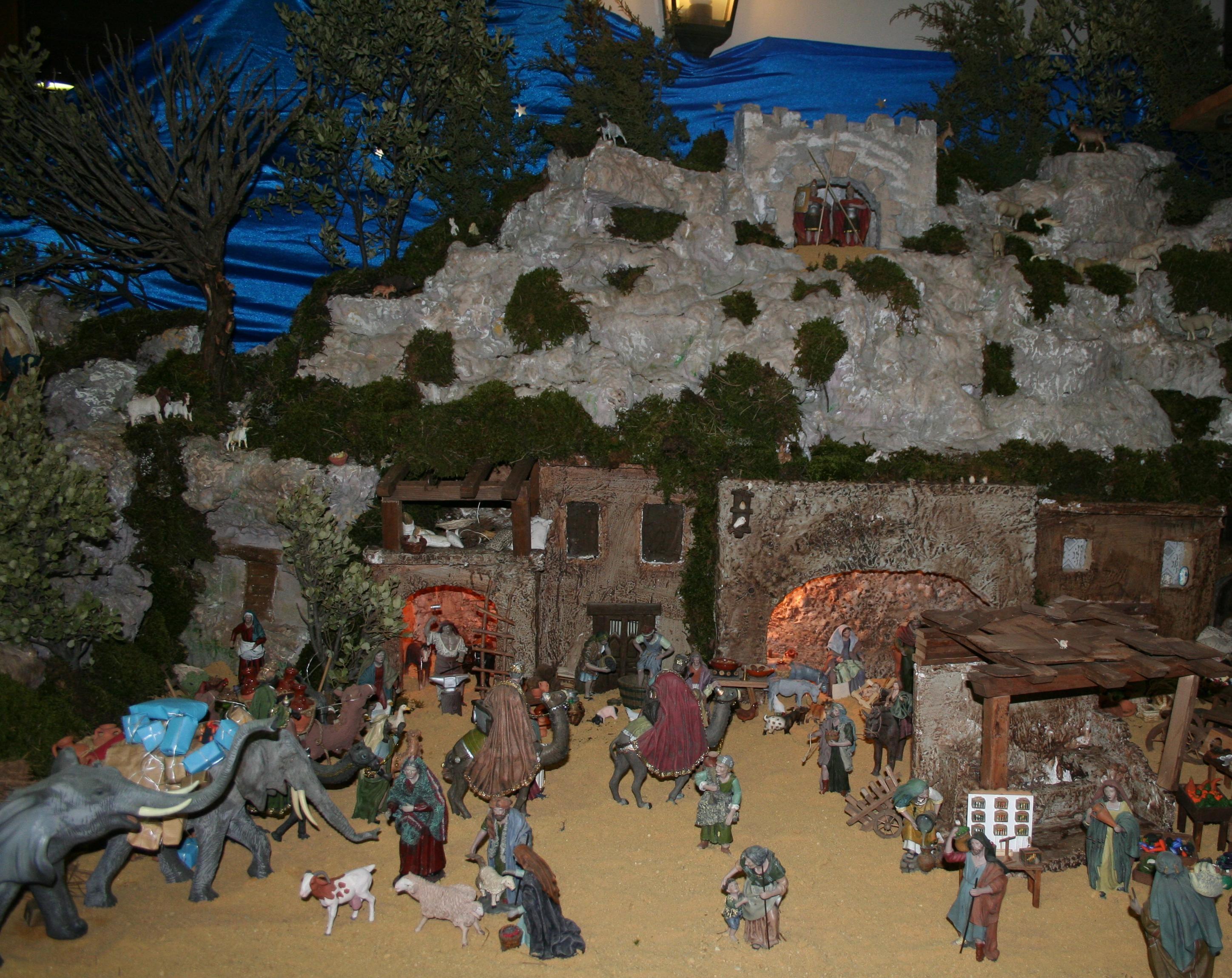 Durante la Navidad la comarca de Albarracín se llena de Belenes preciosos
