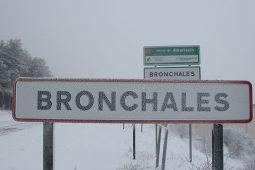 La nieve en Bronchales