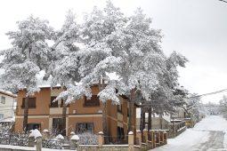 El Hostal Isabel en invierno